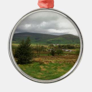British Countryside Christmas Ornament