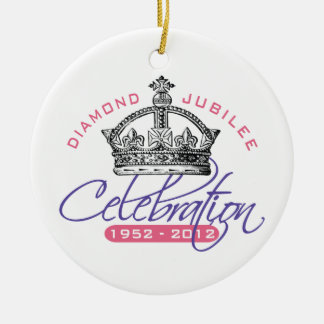 British Diamond Jubilee - Royal Souvenir Christmas Ornament