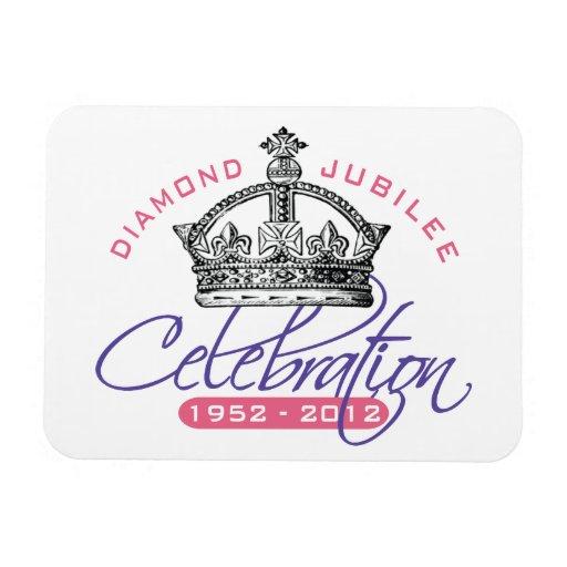 British Diamond Jubilee - Royal Souvenir Flexible Magnets
