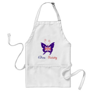 British Diva Butterfly Society Standard Apron
