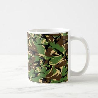 British DPM Camo Basic White Mug