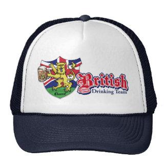 British Drinking Team Trucker Hat