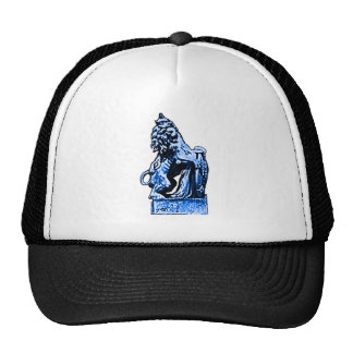 British Emblem Lion Blue The MUSEUM Zazzle Gifts Cap