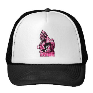 British Emblem Lion Magenta The MUSEUM Zazzle Gift Cap