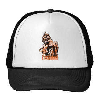 British Emblem Lion Orange The MUSEUM Zazzle Gifts Cap
