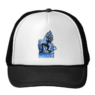 British Emblem Lion rv Blue The MUSEUM Zazzle Gift Cap
