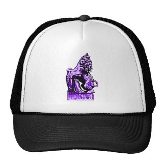 British Emblem Lion rv Purple The MUSEUM Zazzle Gi Cap