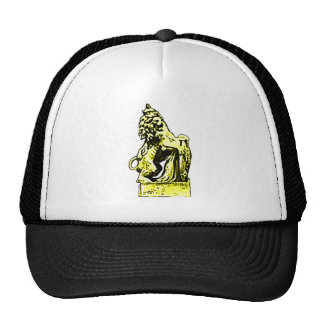 British Emblem Lion  Yellow The MUSEUM Zazzle Gift Cap