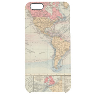 British Empire, routes, currents Clear iPhone 6 Plus Case