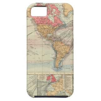 British Empire, routes, currents iPhone 5 Cover