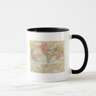 British Empire, routes, currents Mug