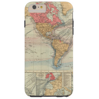 British Empire, routes, currents Tough iPhone 6 Plus Case