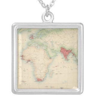 British Empire Silver Plated Necklace