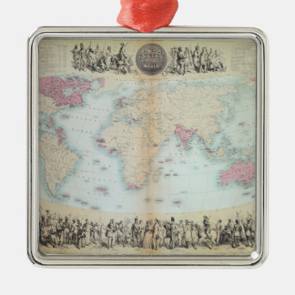 British Empire throughout the World Christmas Ornament