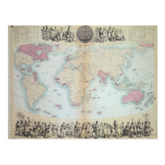British Empire throughout the World Postcard