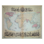 British Empire throughout the World Poster