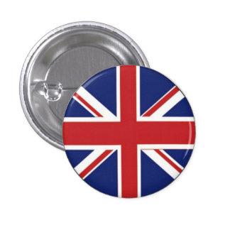 British Flag 3 Cm Round Badge