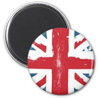 British Flag 6 Cm Round Magnet