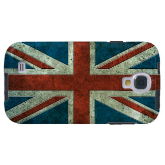 British Flag Aged Steel Effect Galaxy S4 Case