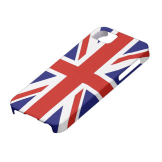 British flag barely there iPhone 5 case
