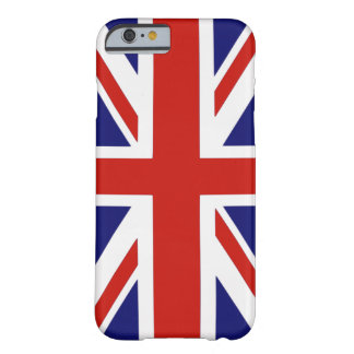 British flag barely there iPhone 6 case