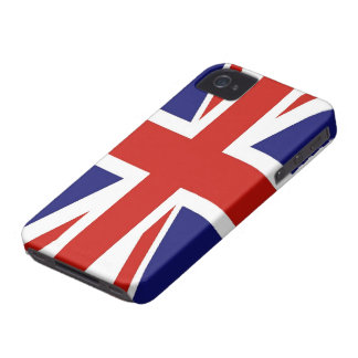 British Flag Case-Mate Barely There™ iPhone 4/4S iPhone 4 Case