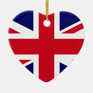 British Flag Christmas Ornament