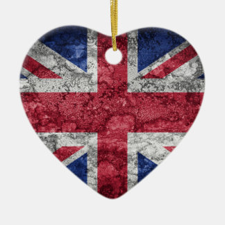 British flag. christmas ornament