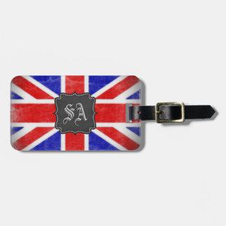 British Flag Customisable Luggage ID Tag
