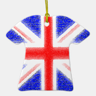 British Flag Ceramic T-Shirt Decoration
