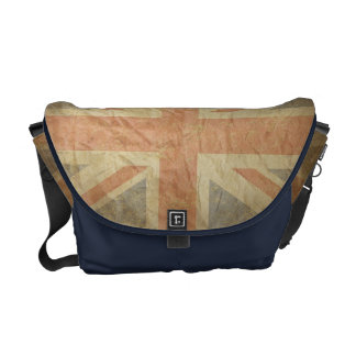 British Flag Distressed Courier Bags