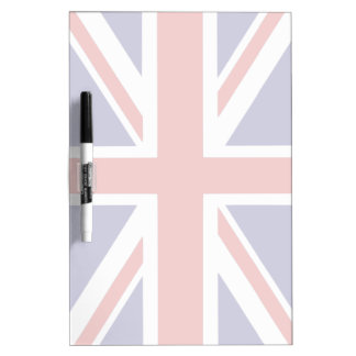 British flag dry erase board