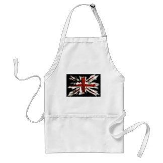 british-flag graffiti style standard apron