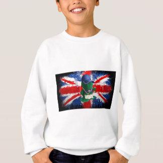 British Flag Grafitti Fonty Sweatshirt