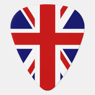 British flag guitar pick | union Jack design