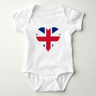 British Flag Heart Tees