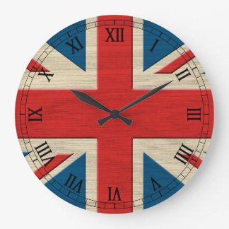 british flag large clock