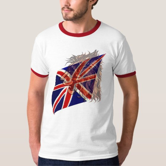 British Flag 'n' Lion T-Shirt