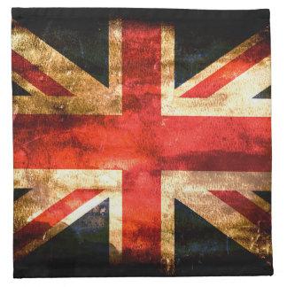 British flag napkin