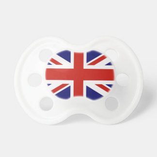 British flag pacifiers