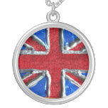 British Flag Personalized Necklace