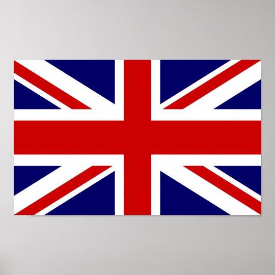 British flag poster   Union jack design