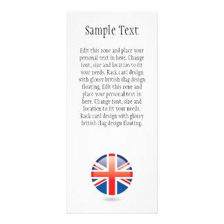 British Flag Rack Card