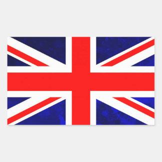British Flag Rectangular Sticker