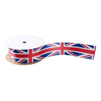 British flag ribbon satin ribbon