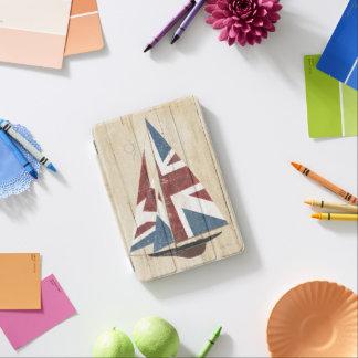 British Flag Sailboat iPad Mini Cover