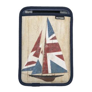 British Flag Sailboat iPad Mini Sleeve