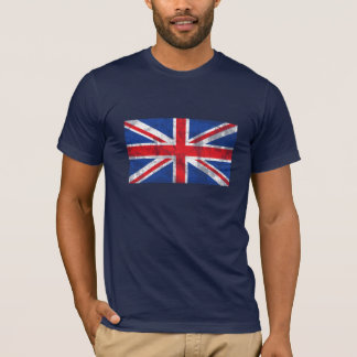 British Flag Shirt Distressed