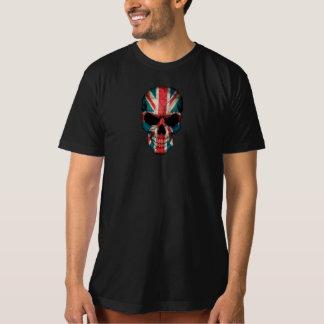 British Flag Skull Tshirt
