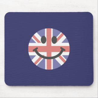 British Flag Smiley face Mouse Mat
